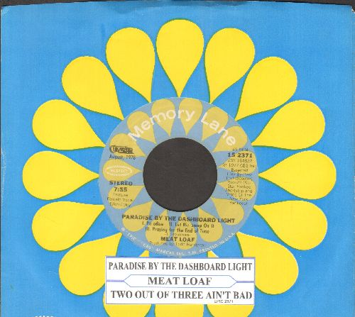 Meatloaf - Paradise By The Dashboard Light/Two Out Of Three Ain't Bad (re-issue with juke box label and company sleeve) - EX8/ - 45 rpm Records