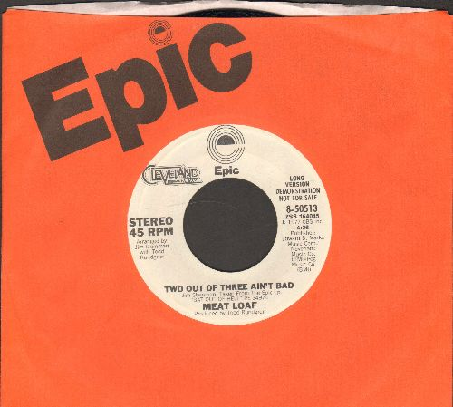 Meat Loaf - Two Out Of Three Ain't Bad (DJ advance copy featuring long and  short version of hit, with Epic company sleeve) - EX8/ - 45 rpm Records
