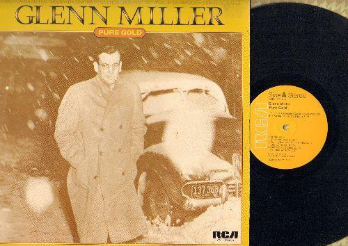 Miller, Glenn - Pure Gold: In The Mood, American Patrol, Sunrise Serenade, Pennsylvania Six-Five Thousand, Chatanooga Choo Choo (Vinyl LP record, re-issue of vintage recordings) - NM9/NM9 - LP Records