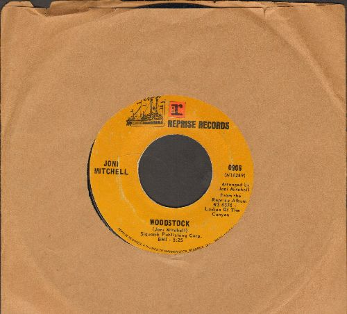 Mitchell, Joni - Woodstock/Big Yellow Taxi - VG6/ - 45 rpm Records
