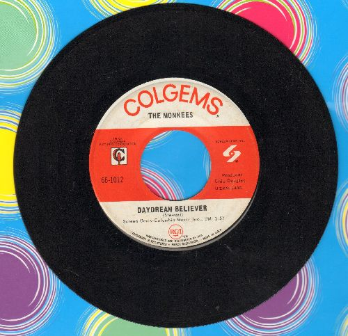 Monkees - Daydream Believer/Goin' Down  - NM9/ - 45 rpm Records