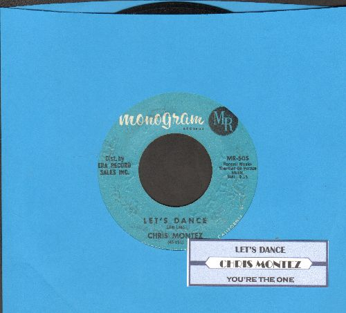 Montez, Chris - Let's Dance/You're The One (with juke box label) - VG7/ - 45 rpm Records