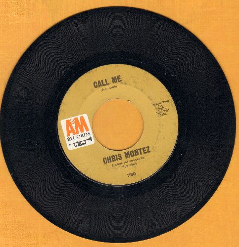 Montez, Chris - Call Me/Go Head On - VG7/ - 45 rpm Records
