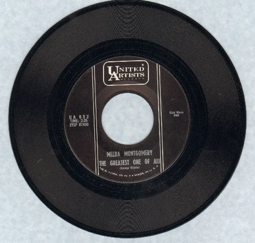 Montgomery, Melba - The Greatest One Of All/Lies Can't Hide What's On My Mind - NM9/ - 45 rpm Records