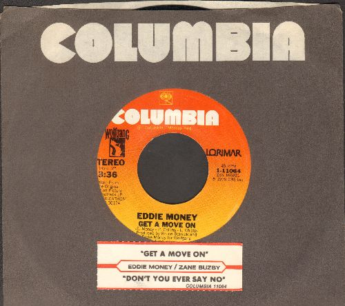 Money, Eddie - Get A Move On/Don't You Ever Say No 9with juke box label and Columbia company sleeve) - NM9/ - 45 rpm Records