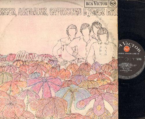 Monkees - Pisces, Aquarius, Capricorn & Jones Ltd.: Salesman, Wods, Hard To Believe, Peter percival Patterson's Pet Pig Porky, Star Collector (vinyl LP record, British Pressing) - NM9/VG7 - LP Records