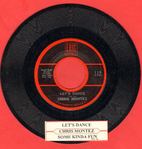Montez, Chris - Let's Dance/Some Kinda Fun (double-hit re-issue with juke box label) - NM9/ - 45 rpm Records