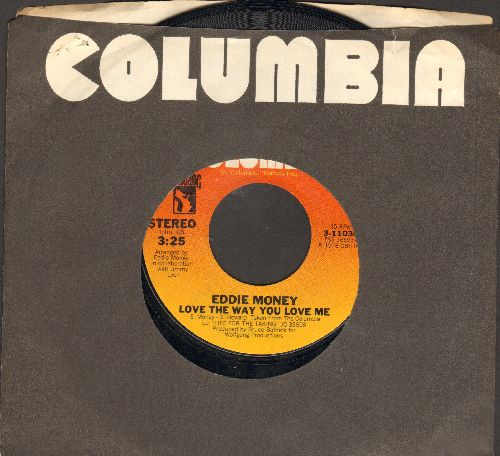 Money, Eddie - Love The Way You Love Me/Maureen (with Columbia company sleeve) - VG7/ - 45 rpm Records