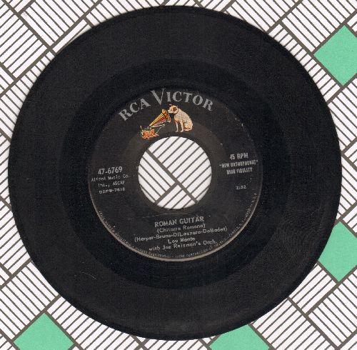 Monte, Lou - Roman Guitar/Some Cloud Above - VG7/ - 45 rpm Records