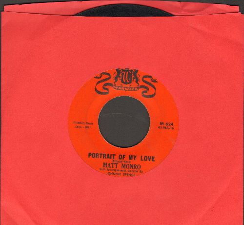 Monro, Matt - Portrait Of My Love/You're The Top Of My Hit Parade - EX8/ - 45 rpm Records
