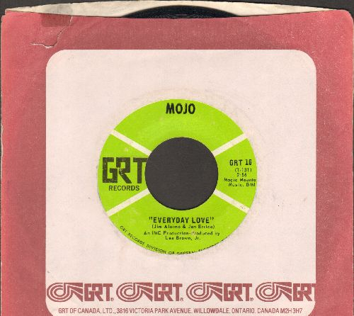 Mojo - Everyday Love/There Goes My Mind (with RARE GRT company sleeve) - VG7/ - 45 rpm Records