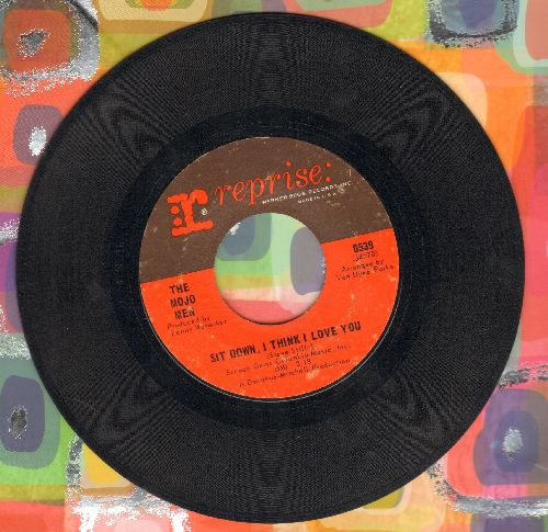 Mojo Men - Sit Down, I Think I Love You/Don't Leave Me Crying Like Before - VG7/ - 45 rpm Records