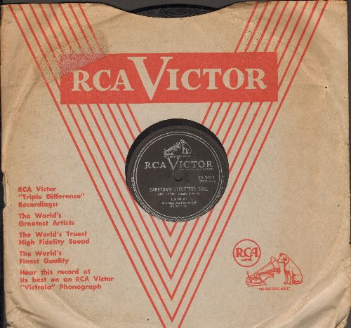 Monte, Lou - Darktown Strutters Ball/I Know How You Feel (10 inch 78 rpm record with vintage RCA company sleeve) - VG6/ - 78 rpm