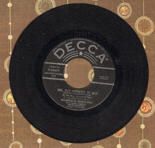 Modugno, Domenico - Nel Blu Dipinto Di Blu (Volare) (GRAMMY WINNER BEST SONG OF 1958!)/Mariti In Citta (black label first pressing) - EX8/ - 45 rpm Records
