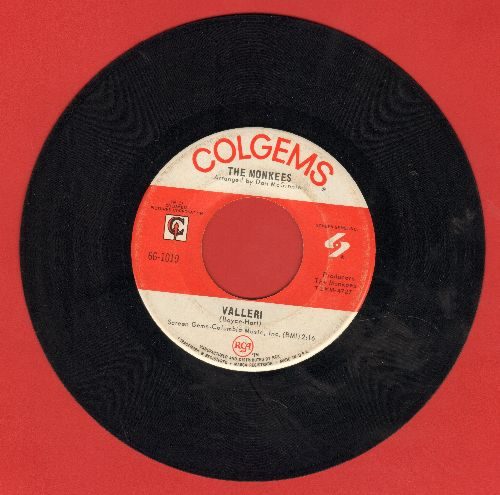 Monkees - Valleri/Tropioca Tundra  - EX8/ - 45 rpm Records