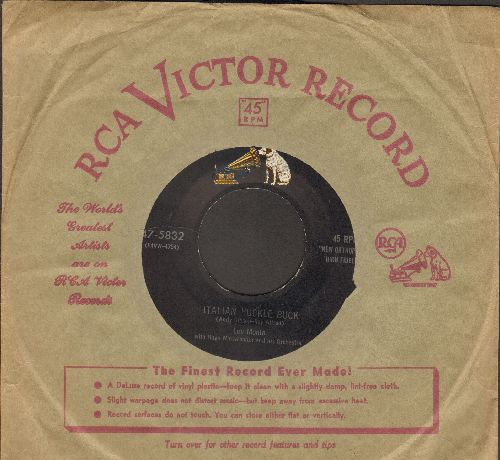 Monte, Lou - Italian Huckle Buck/Just Like Before (with vintage RCA company sleeve) - NM9/ - 45 rpm Records