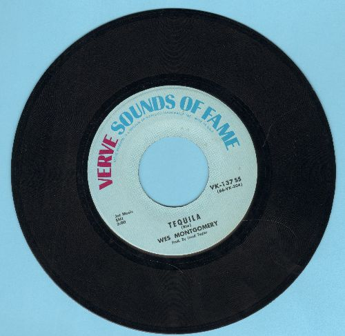Montgomery, Wes - Tequila/Goin' Out Of My Head (double-hit re-issue) - NM9/ - 45 rpm Records