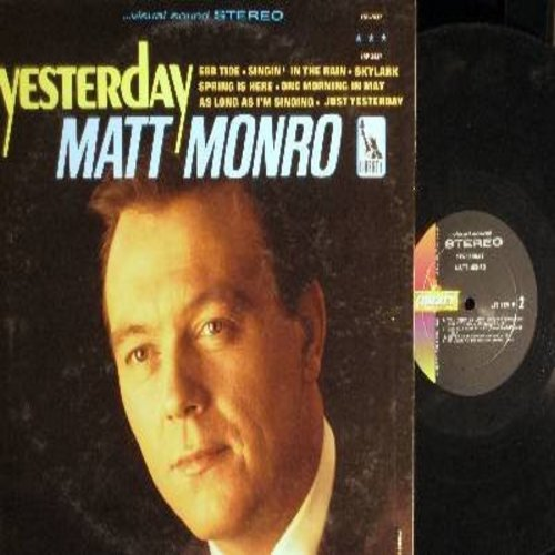 Monro, Matt - Yesterday: Singin' In The Rain, Ebb Tide, One Morning In May, Skylark, Beyond The Hill (Vinyl STEREO LP record) - NM9/NM9 - LP Records