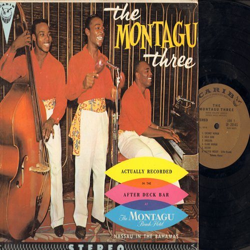Montagu Three - The Montagu Three (Recorded LIVE): Delia Gone, Coconut Woman, Goombay, La Mer (Vinyl STEREO LP record) - VG7/VG7 - LP Records