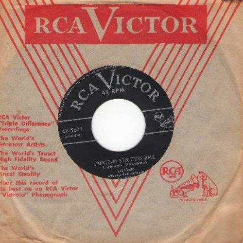 Monte, Lou - Darktown Strutters Ball/I Know How You Feel (with vintage RCA company sleeve) - EX8/ - 45 rpm Records