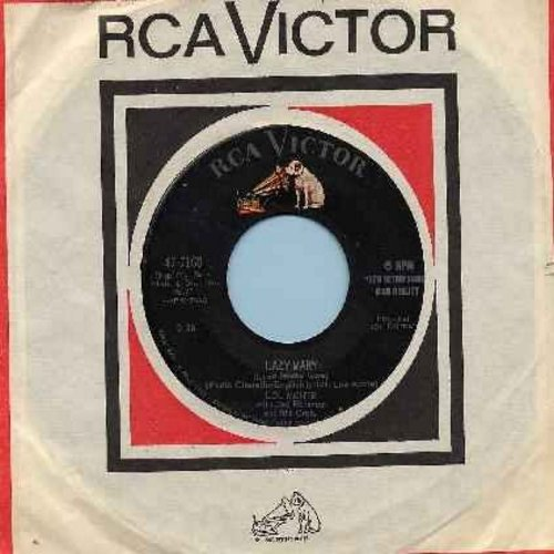 Monte, Lou - Lazy Mary/Angelique (with RCA company sleeve) - NM9/ - 45 rpm Records