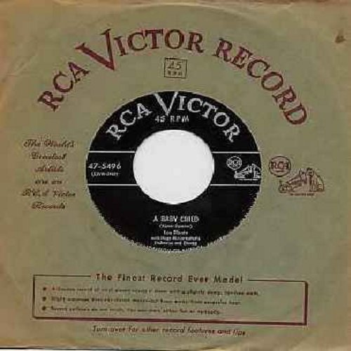 Monte, Lou - A Baby Cried/One Moment More - VG7/ - 45 rpm Records