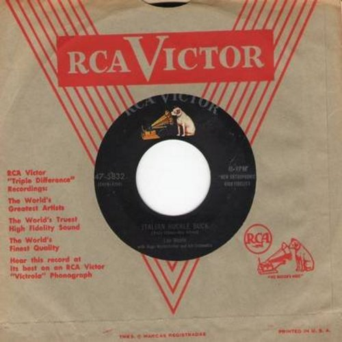 Monte, Lou - Italian Huckle Buck/Just Like Before (with vintage RCA company sleeve) - VG7/ - 45 rpm Records
