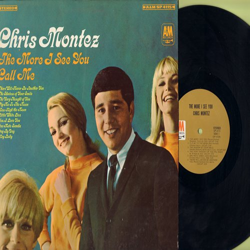 Montez, Chris - The More I See You: Call Me, There Will Never Be Another You, Fly Me To The Moon, The Very Thougght Of You (Vinyl STEREO LP record, NICE condition!) - NM9/NM9 - LP Records