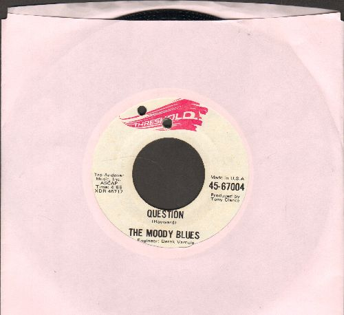 Moody Blues - Question/Candle Of Life (bb) - EX8/ - 45 rpm Records