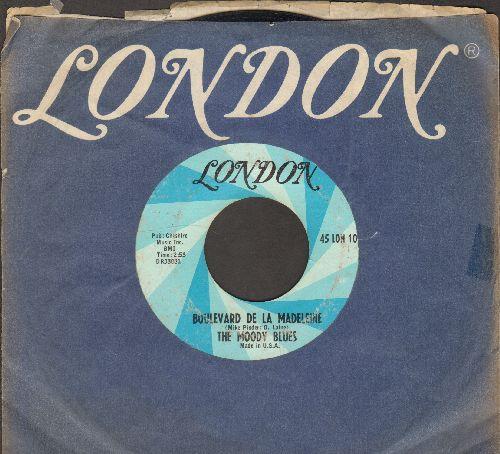 Moody Blues - Boulevard De La Madeleine (with London company sleeve) - VG7/ - 45 rpm Records