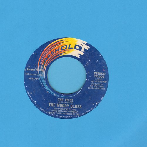 Moody Blues - The Voice/22,000 Days  - EX8/ - 45 rpm Records