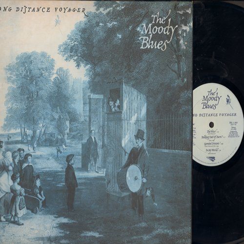 Moody Blues - Long Distance Voyager: The Voice, In My World, Meanwhile, Nervous, 22,000 Days (Vinyl STEREO LP record, gate-fold cover) - NM9/EX8 - LP Records