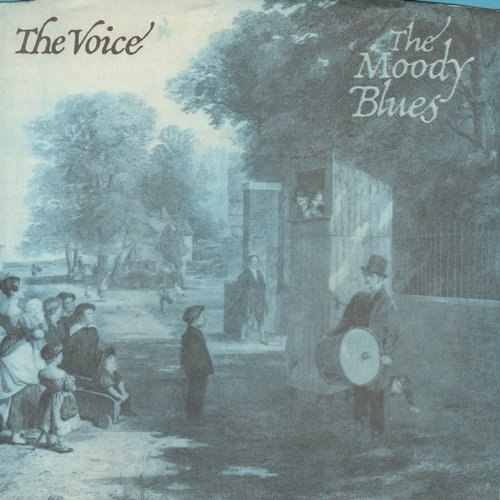 Moody Blues - The Voice/22,000 Days (with picture sleeve) - NM9/EX8 - 45 rpm Records