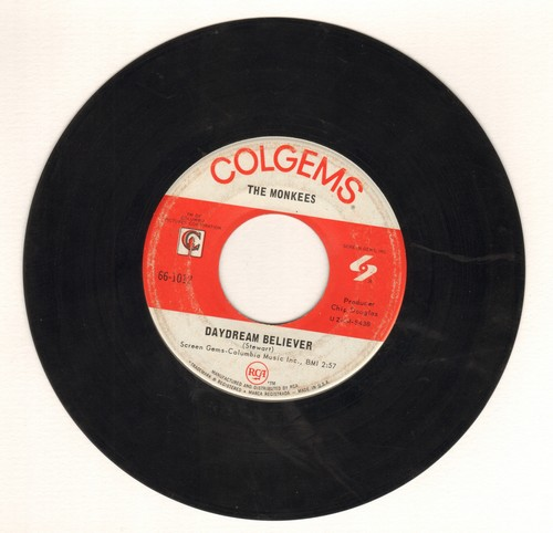 Monkees - Daydream Believer/Goin' Down  - VG7/ - 45 rpm Records