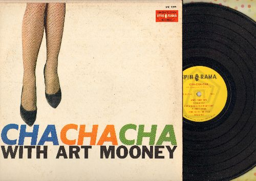 Mooney, Art & His Orchestra - Cha Cha Cha With Art Mooney: Who's Sorry Now, Caravan, Glow Worm, Dwana, Jamaica, Midnight Dream (Vinyl MONO LP record) - NM9/VG7 - LP Records