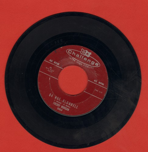 Morgan, Freddy - Side Saddle/64 Rue Blondell (NICE Honky-Tonk Piano two-sider!) - EX8/ - 45 rpm Records