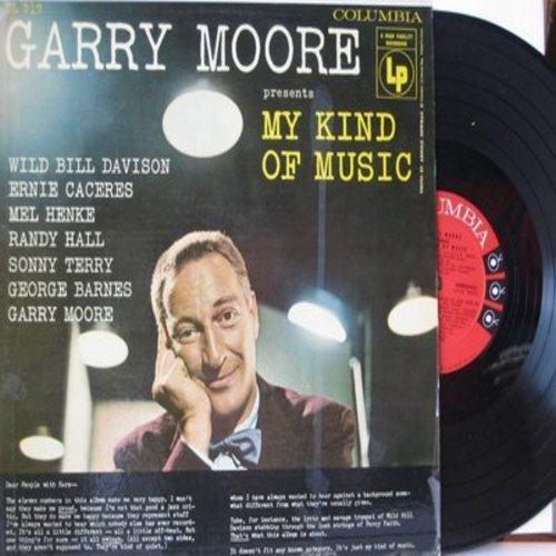 Moore, Garry - My Kind Of Music: Cryin' Shame, Body And Soul, Let's Fall In Love, You Took Advantage Of Me (Vinyl MONO LP record) - NM9/EX8 - LP Records