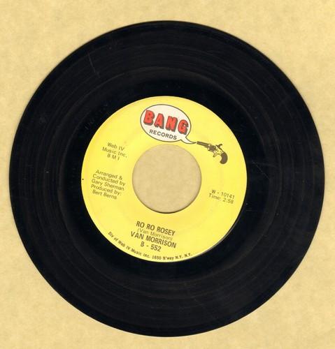 Morrison, Van - Ro Ro Rosey/Chick-A-Boom (bb) - EX8/ - 45 rpm Records