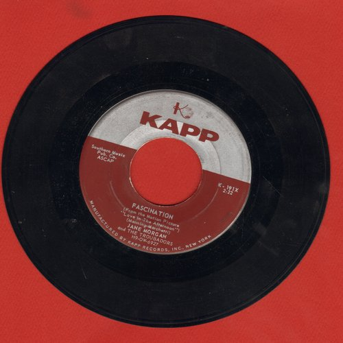 Morgan, Jane - Fascination/Whistling Instrumental Fascination - EX8/ - 45 rpm Records