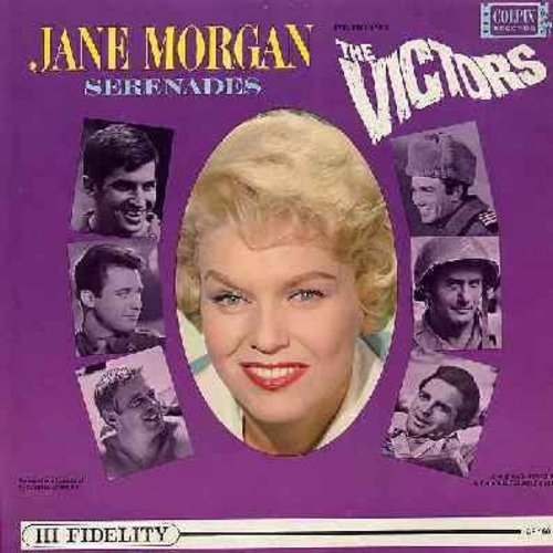 Morgan, Jane - Jane Morgan Serenades The Victors: Let's Fall In Love, Have Yourself A Merry Little Christmas, Glory Of Love, Pennies From Heaven, Red sails In The Sunset (Vinyl MONO LP record, RARE mint condition!)) - M10/M10 - LP Records
