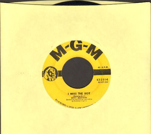 Madigan, Betty - I Miss The Boy/Surprise - EX8/ - 45 rpm Records