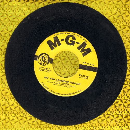 Morgan, Jaye P. - Are You Lonesome Tonight/Miss You - VG7/ - 45 rpm Records