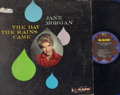 Morgan, Jane - The Day The Rains Came: Everybody Loves A Lover, It's All In The Game, Volare (vinyl MONO LP record) - EX8/VG6 - LP Records