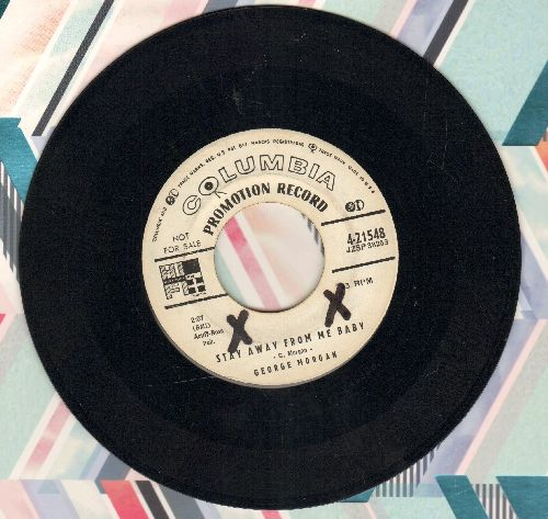 Morgan, George - Stay Away From My Baby/Now You Know - EX8/ - 45 rpm Records