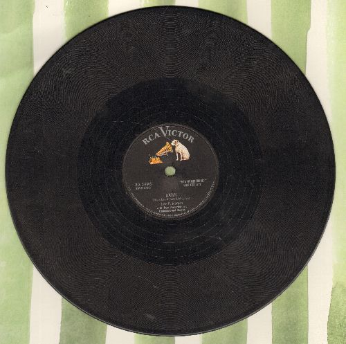 Morgan, Jaye P. - Dawn/That's All I Want From You (10 inch 78 rpm record) - EX8/ - 78 rpm