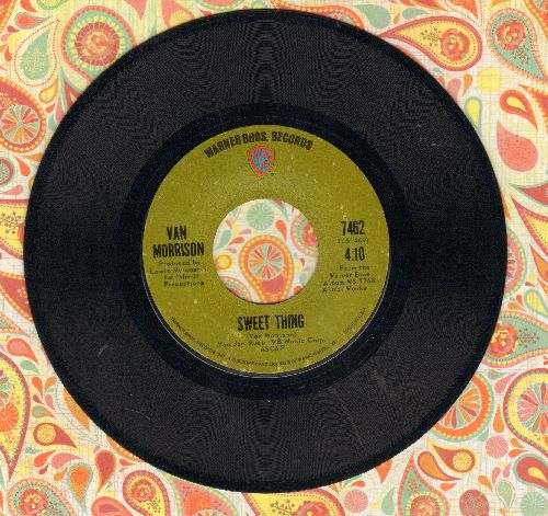 Morrison, Van - Sweet Thing/Blue Money - EX8/ - 45 rpm Records