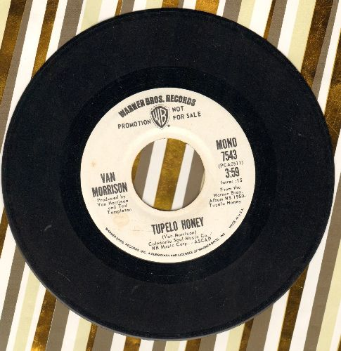 Morrison, Van - Tupelo Honey (double-A-sided DJ advance pressing with MONO an STEREO version) - NM9/ - 45 rpm Records