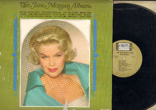 Morgan, Jane - The Jane Morgan Album: From Russia With Love, Let's Fall In Love, Song From Moulin Rouge, If You Love Me Really Love Me (Vinyl MONO LP record) - NM9/VG6 - LP Records