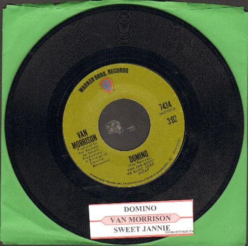 Morrison, Van - Domino/Sweet Jannie (with juke box label) - NM9/ - 45 rpm Records