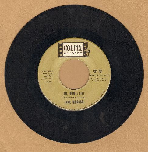 Morgan, Jane - Oh, How I Lie!/After The Fall - EX8/ - 45 rpm Records
